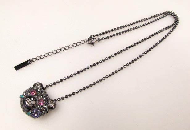 ANNA SUI クマブローチトップネックレス