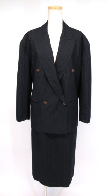 Jean Paul GAULTIER ストライプスカートスーツ