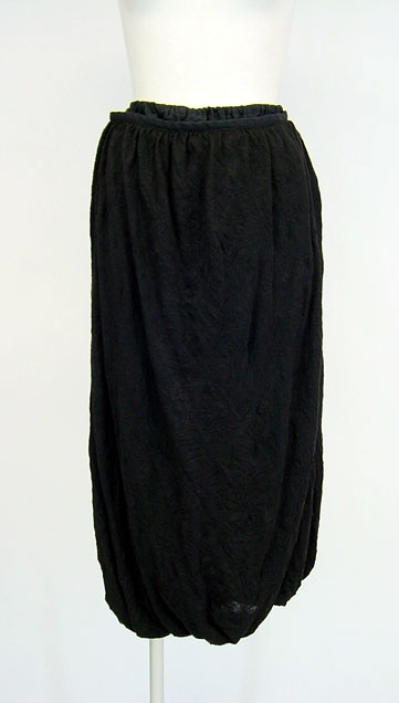 Jane Marple Dans Le Salon しわ加工ニットバルーンロングスカート