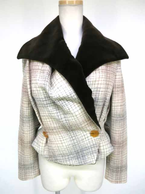 Vivienne Westwood ハリスツイードチェック柄ジャケット