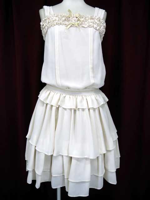 Victorian maiden ローウェストフリルフェアリードレス