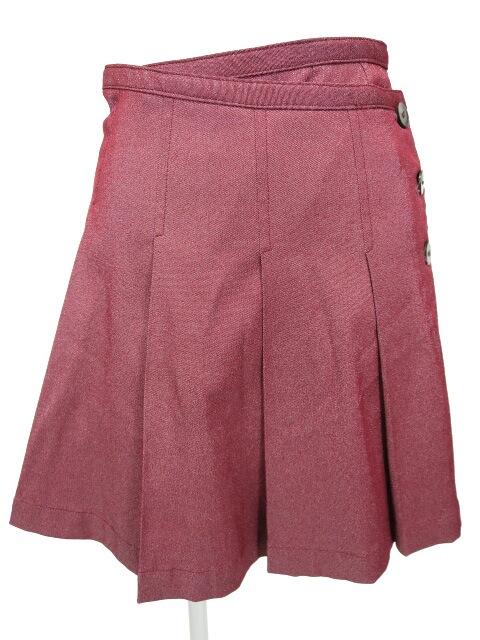 Jane Marple ラメプリーツ巻きスカート