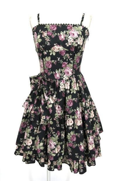 Victorian maiden ローズブーケリボンドレス