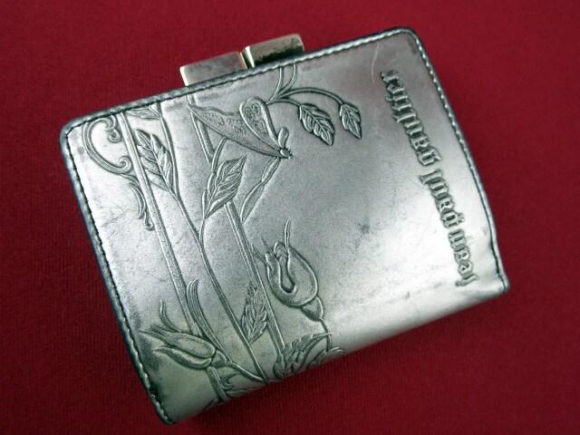 Jean Paul GAULTIER ニューローズがま口三つ折財布