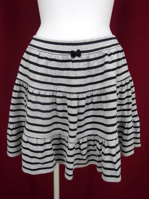 MILK レディボーダースカート