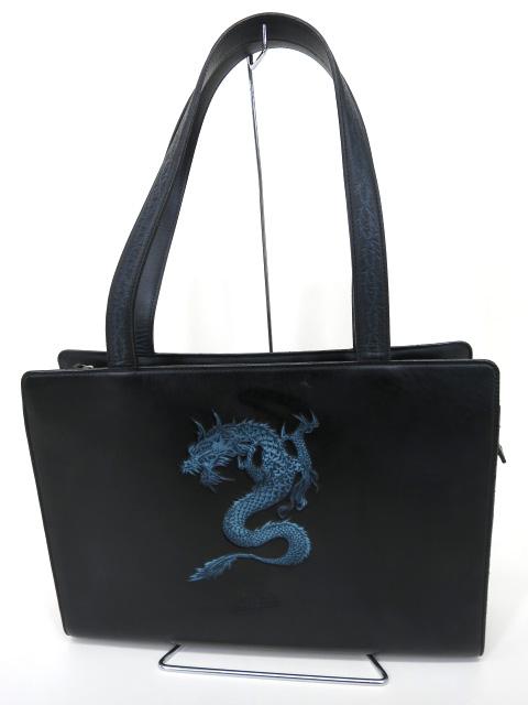 Jean Paul GAULTIER ドラゴンレザージップバッグ