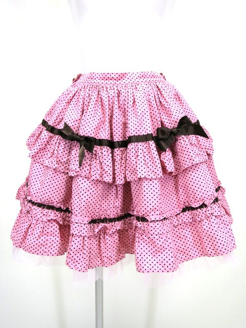 BABY, the STARS SHINE BRIGHT ドットリボンデコレーションスカート
