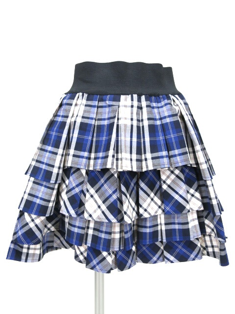 Jane Marple チェック柄ダンドールスカート