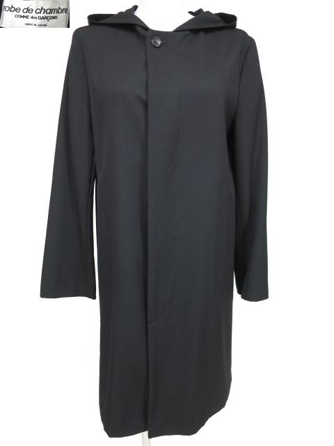 robe de chambre COMME des GARCONS フード付きコート