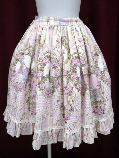 BABY, the STARS SHINE BRIGHT Marie Antoinette~美しき王妃の華麗なる肖像~柄スカート