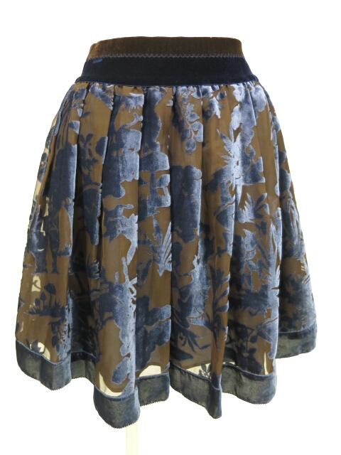 Jane Marple ベルベットオパールアリスのミニスカート