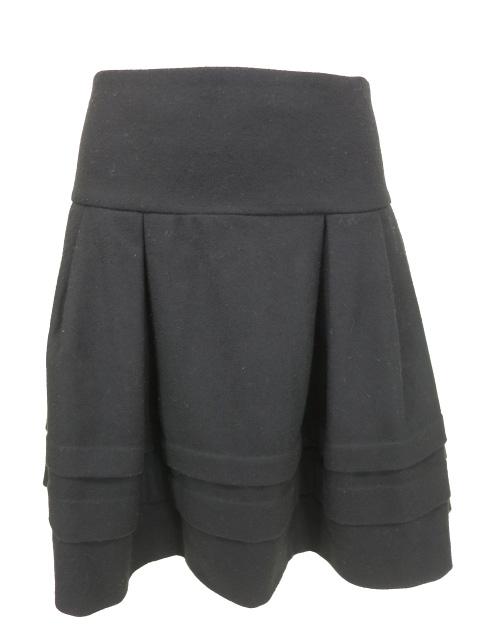 Jane Marple Dans le Salon ピンタックウールスカート