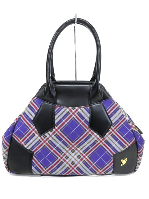 Vivienne Westwood タータンチェックヤスミンバッグ