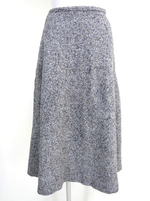 Lois CRAYON ツイードフレアスカート