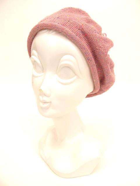 Metamorphose リボン付きニット帽