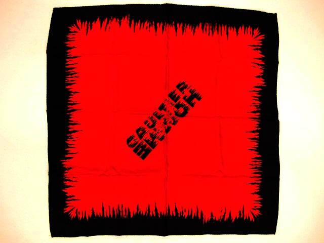 GAULTIER HOMME objet シルクスカーフ