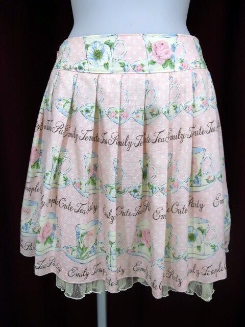 Emily Temple cute ティーカッププリントスカート