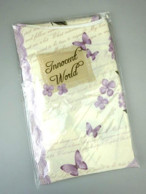 Innocent World / 紫陽花と蝶のタイツ