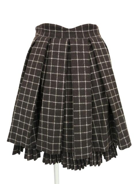Victorian maiden / 格子柄ツイードプリーツスカート