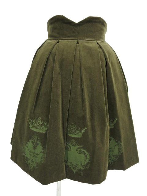 Victorian maiden / 別珍王冠トランプスカート