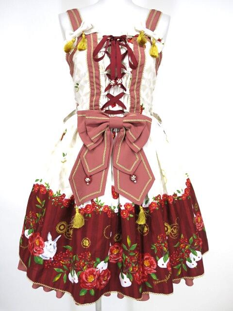 Metamorphose / 風花のゆきうさぎバッスルジャンパースカート