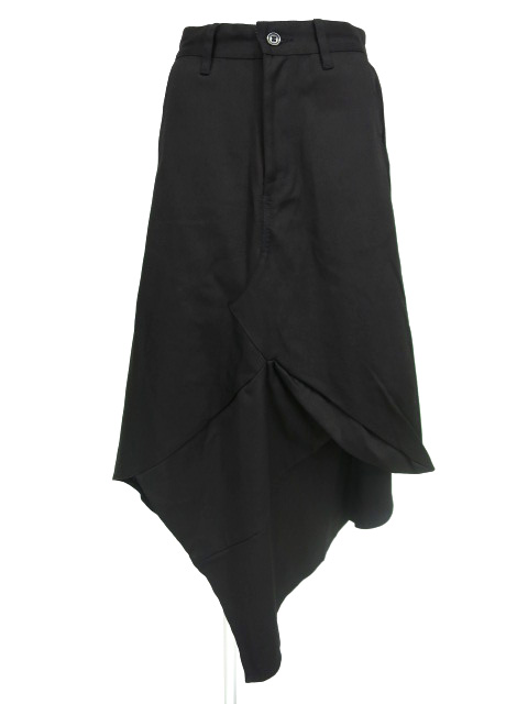 KUNIKUNI / 立体切替ロングスカート