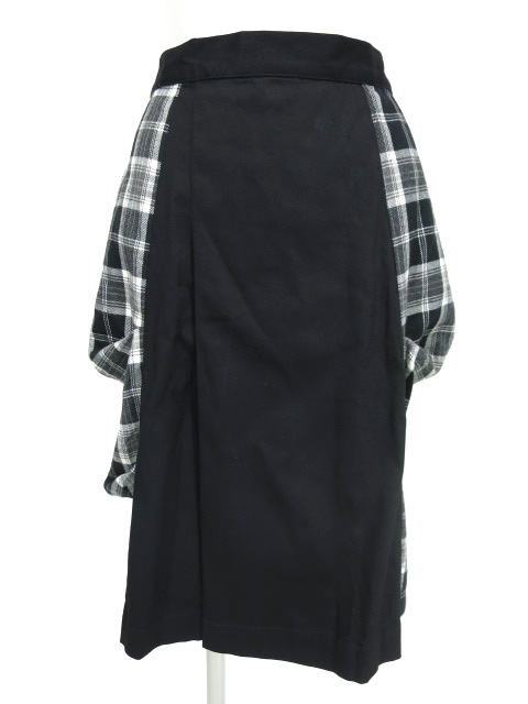 KUNIKUNI / チェック切替スカート