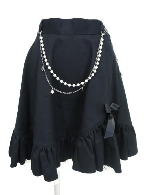 Metamorphose パールチェーン付きスカート