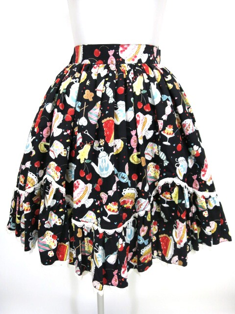 Metamorphose SWEETS collection スカラップスカート