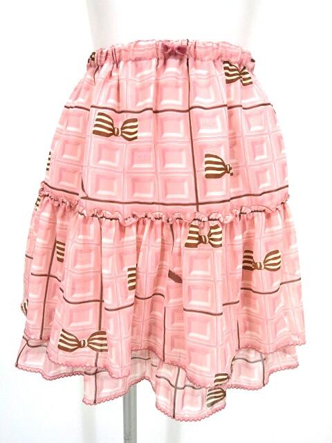 Emily Temple Lulu チョコレート柄スカート