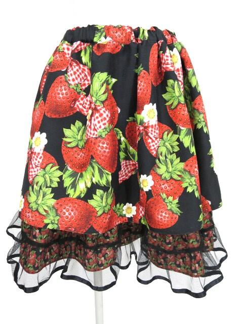 Emily Temple cute Contrastストロベリースカート