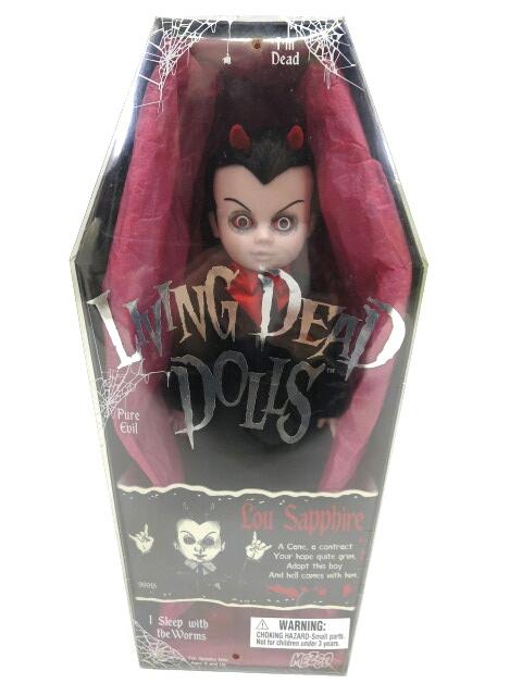 LIVING DEAD DOLLS シリーズ2 Lou Sapphire