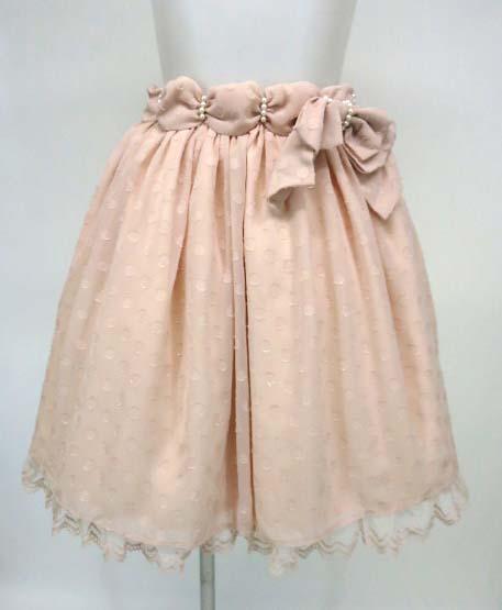 Angelic Pretty クラシカルホイップドットスカート