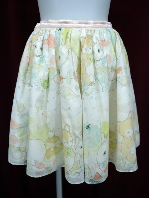 MILK リリーワールドスカート