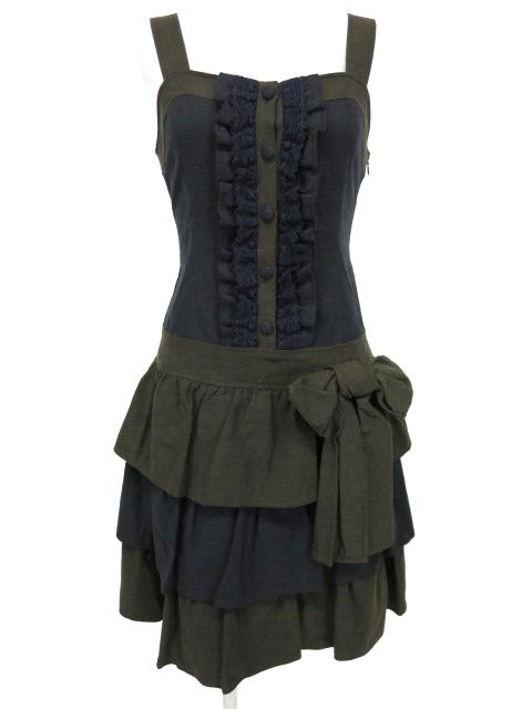 Jane Marple フリルジャンパースカート
