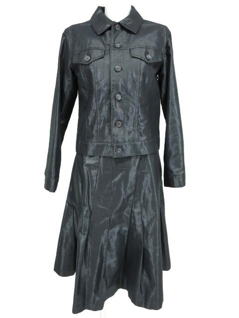 Jane Marple Dans le Salon シャイニージャケット&プリーツスカート セット