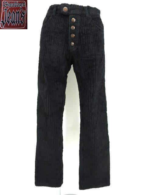 Gaultier Jean's コーティングプリントコーデュロイパンツ