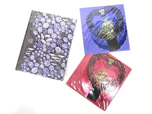 ANNA SUI 洋書型ノート、グリーティングカードセット