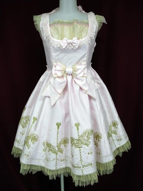 Angelic Pretty Twinkle Carnival切替ジャンパースカート