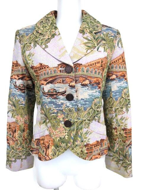Jane Marple Dans le Salon ゴブラン織りジャケット