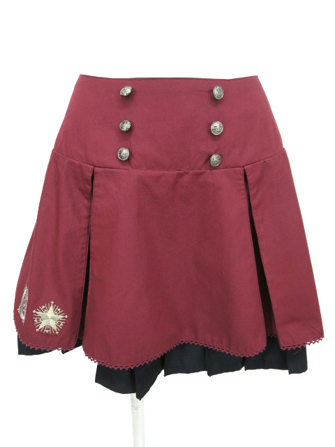 PUTUMAYO 夜空の刺繍セーラースカート