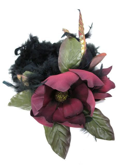 atelier Beatrice magnolia feather ヘッドドレス