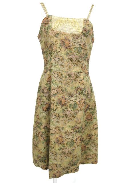 Jane Marple ゴブランジャンパースカート