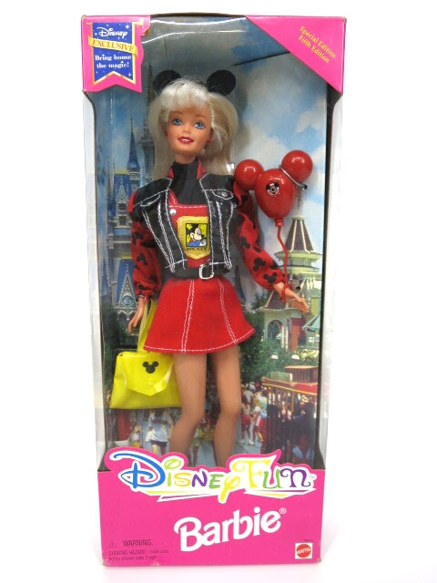 Barbie ディズニーファン バービー Fifth Edition