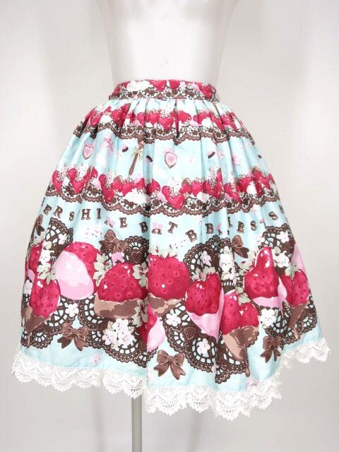 BABY, THE STARS SHINE BRIGHT Creamy Berry Fairy Dream 柄スカート