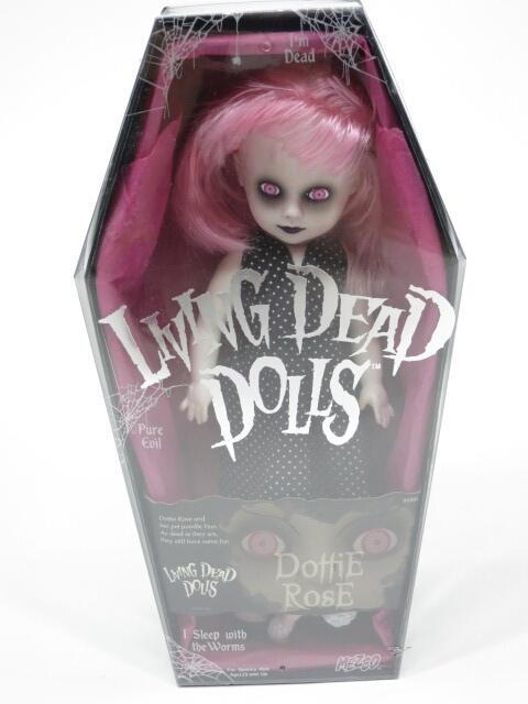 LIVING DEAD DOLLS シリーズ6 Dottie Rose眉なし(ドッティローズ)