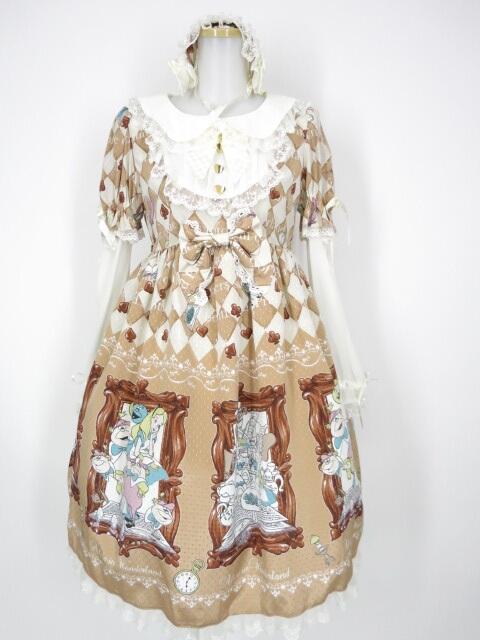 BABY, THE STARS SHINE BRIGHT×Disney ふしぎの国のアリス ワンピース&ヘッドドレス