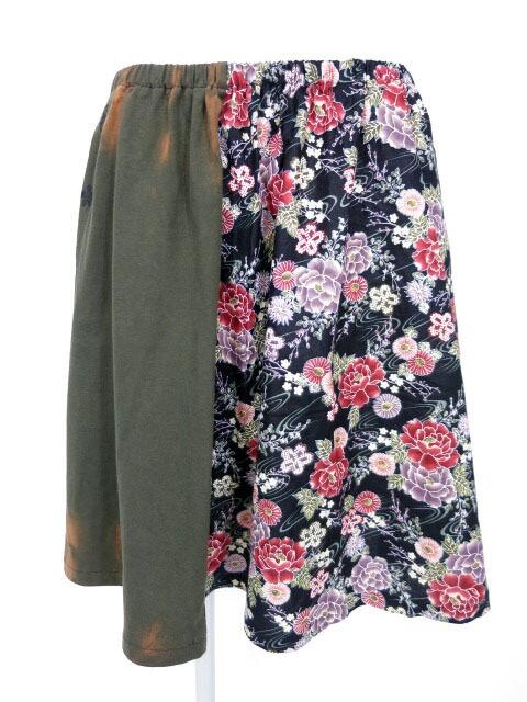 gouk 和柄切替スカート