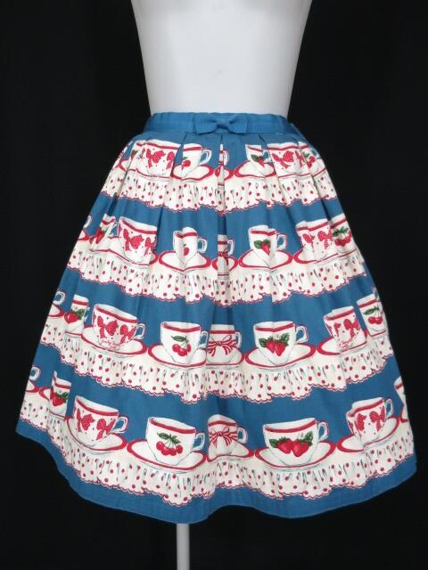 Emily Temple cute ティーカップ柄スカート