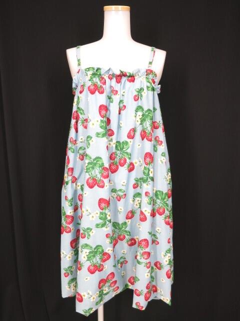 Jane Marple ストロベリーガーデンのストラップドレス